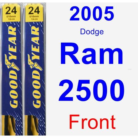 2005 Dodge Ram 2500 Wiper Blade Set/Kit (Front) (2 Blades) -