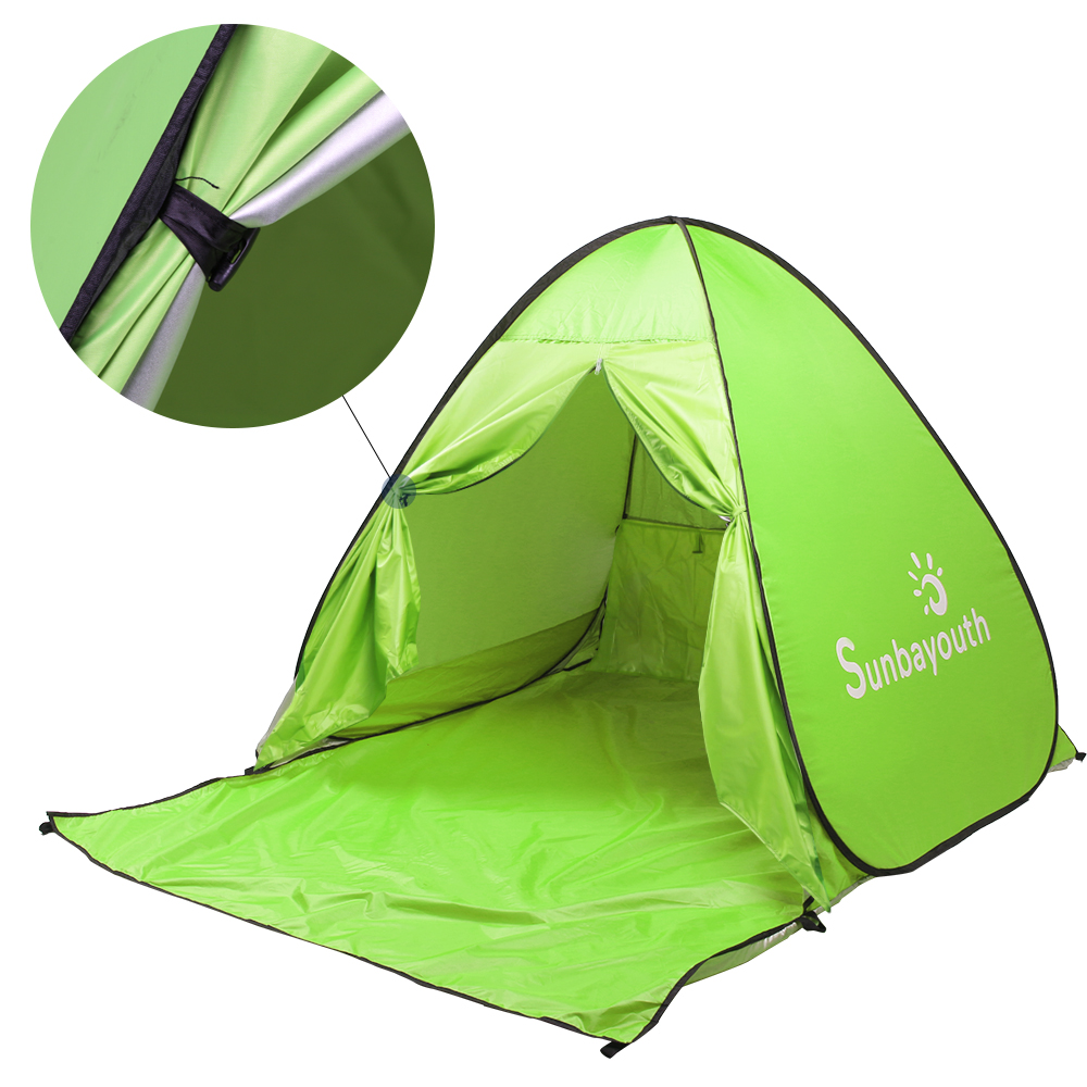 Pop Up Tent Beach Umbrella, 90% UV Protection Sun Shelter, Beach Shade for Baby