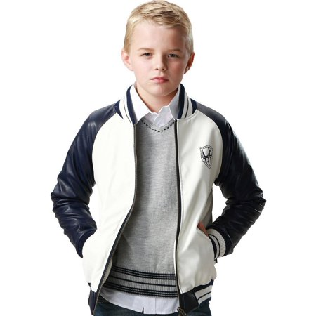 Leo&Lily Faux Suede Lining Jacket (Little Boys & Big Boys)
