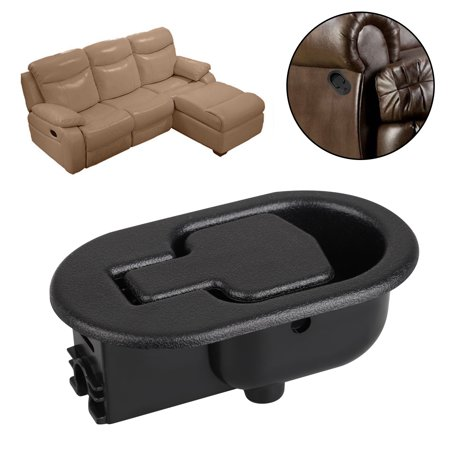 Reliable Recliner Replacement Parts, for Standard 5mm, Small Black Plastic Pull Recliner Handle,fits Ashley and Other Manufacturer Brands, Chair Release Handle for