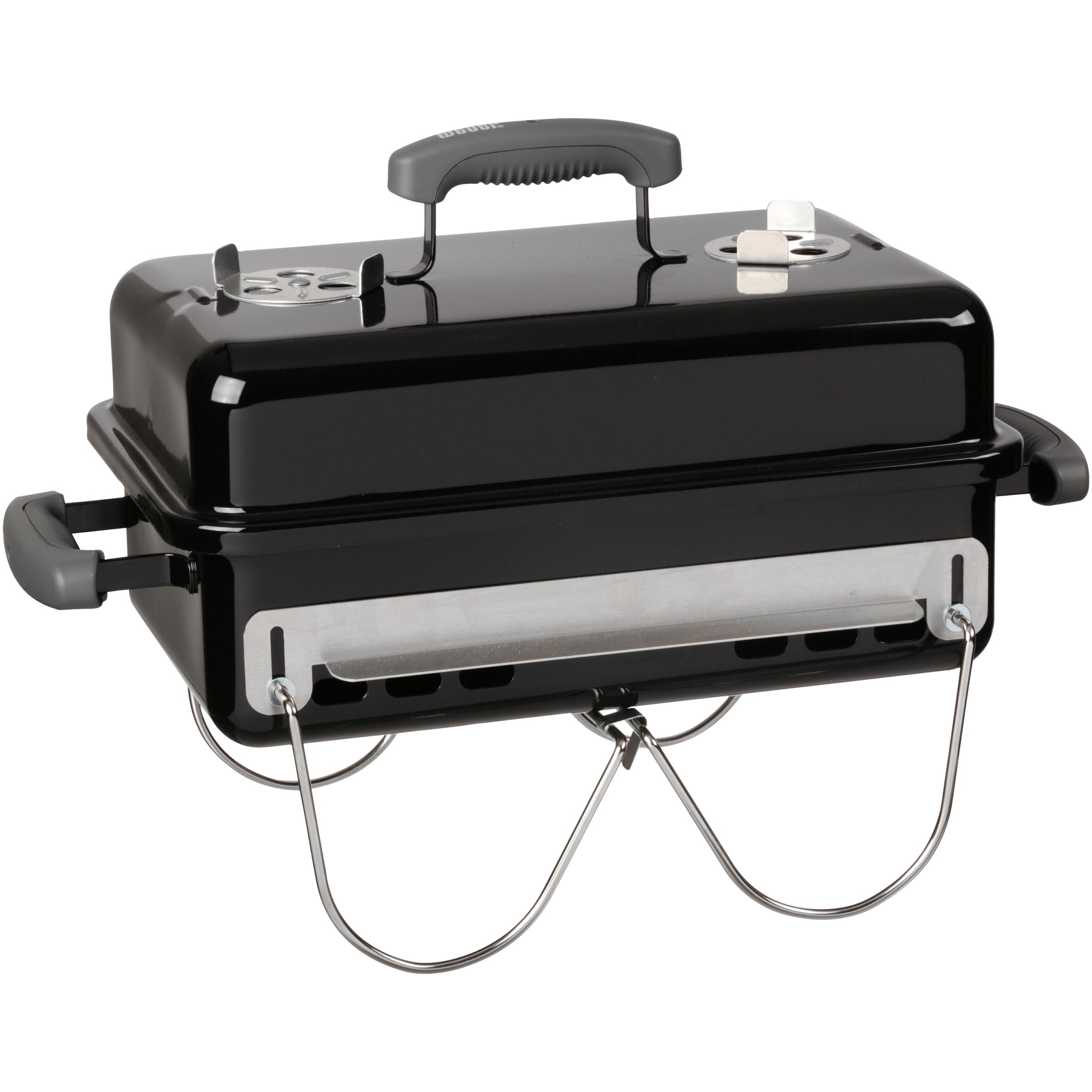 Weber Go-Anywhere Charcoal Grill, Black