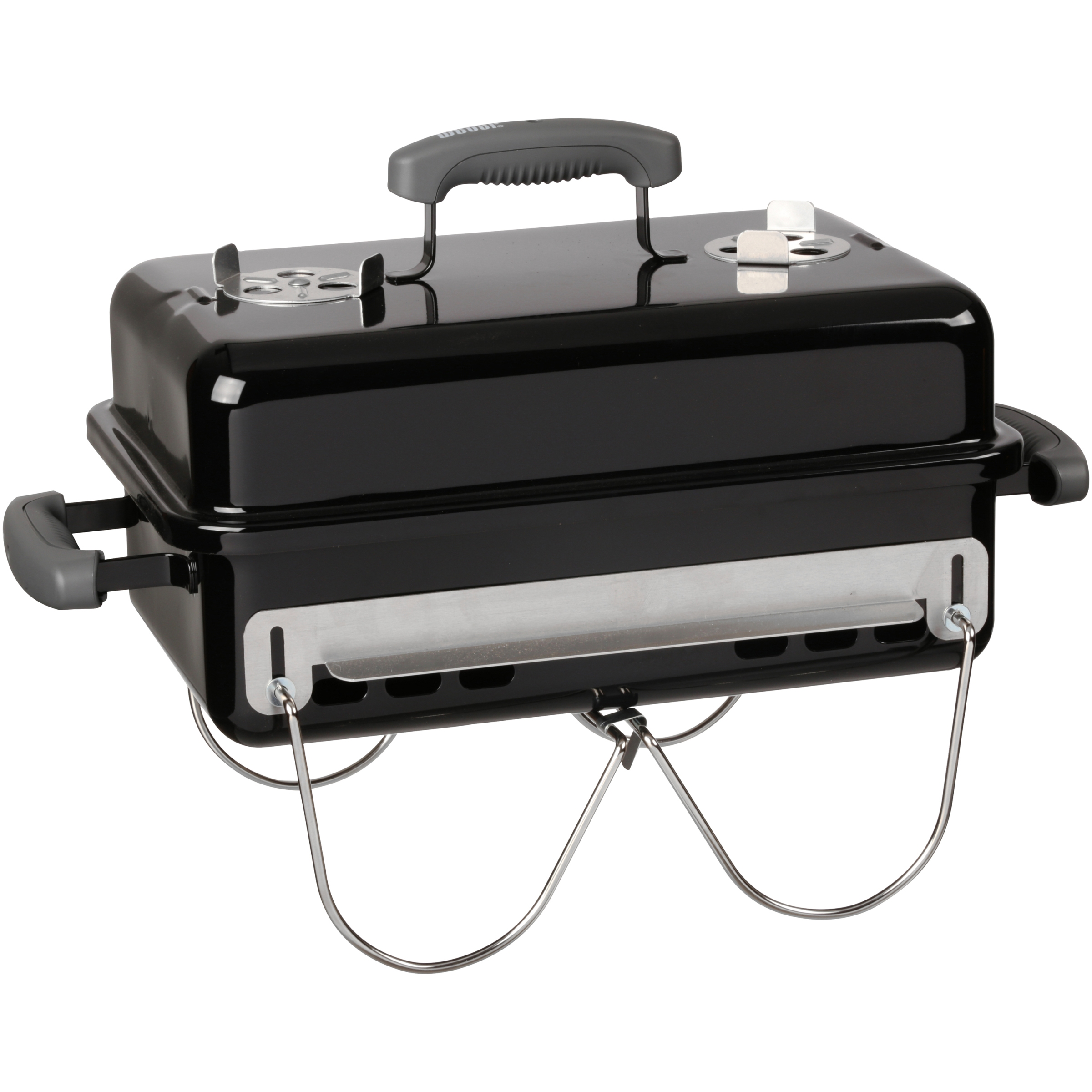 Weber Go-Anywhere Charcoal Grill, Black