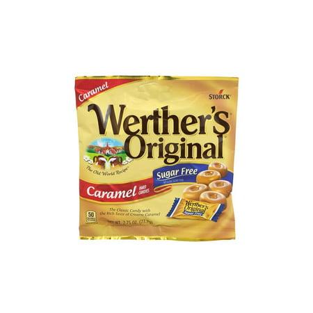 Werther's Original Caramel Hard Candies Sugar Free, 2.75 oz, 3 Pack
