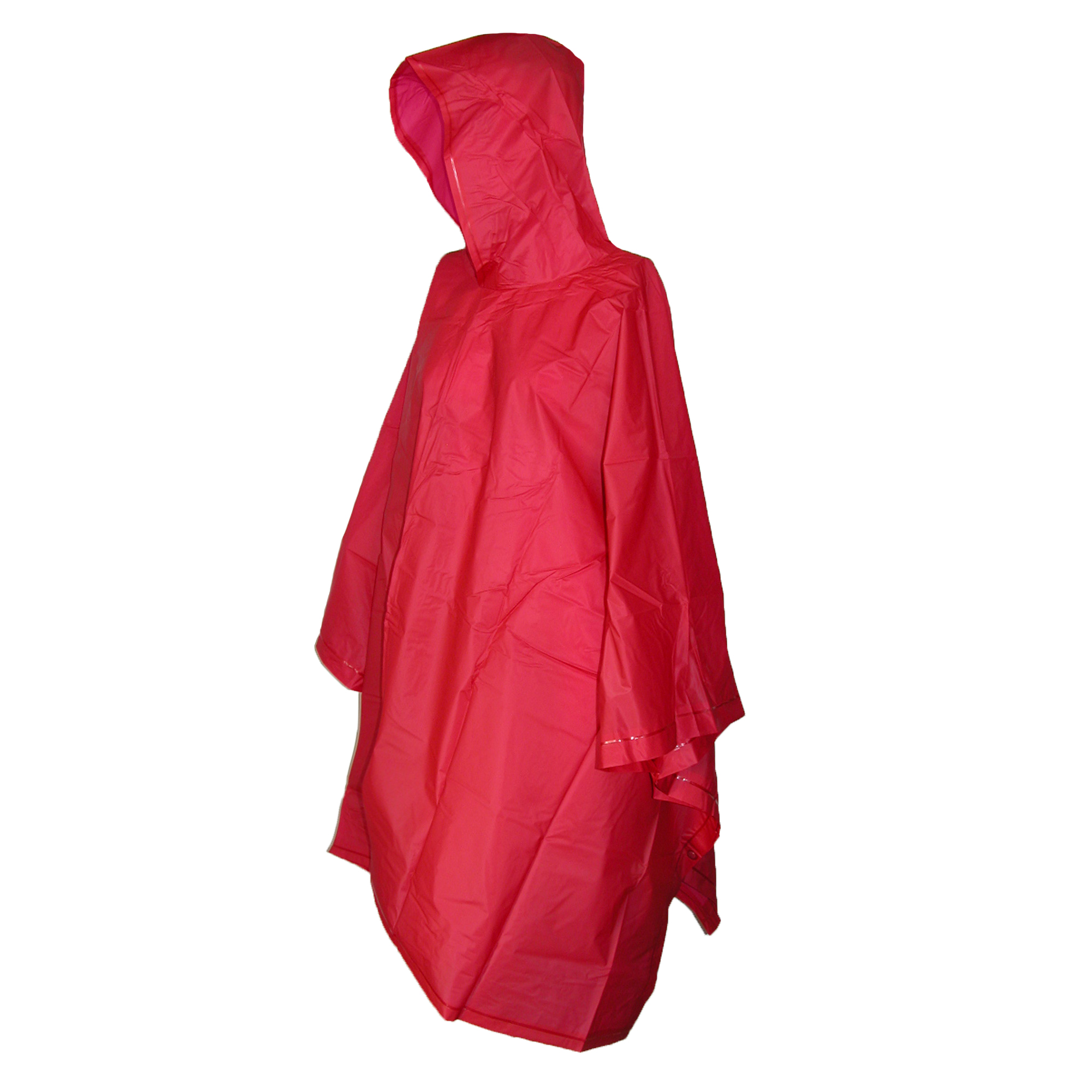 Totes Hooded Pullover Rain Poncho with Side Snaps by Totes