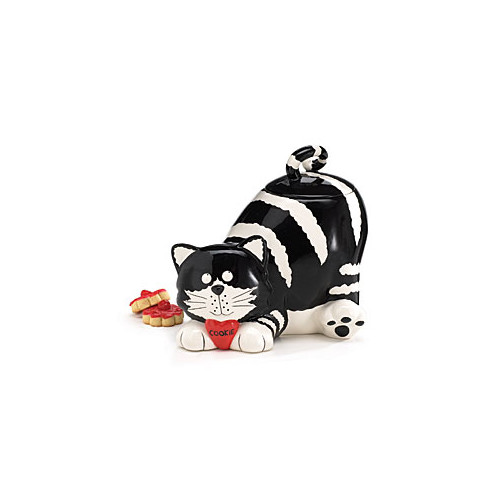 Burton + Burton Chester Cat Lying 68 ounce Cookie Jar by Flowers & Balloon/Burton & Burton
