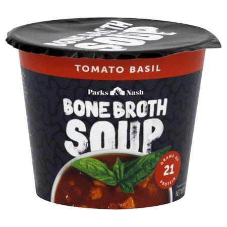 Bone Broth Soup - Soup Cup - Tomato Basil - Case Of 6 - 1.69