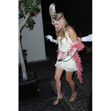 Lauren Conrad In 1920S Flapper Girl Costume In Attendance For Stk Halloween Costume Party Stk Nightclub Los Angeles Ca October 31 2008 Photo By MaximillionEverett Collection - Halloween Party Nightclub Boston