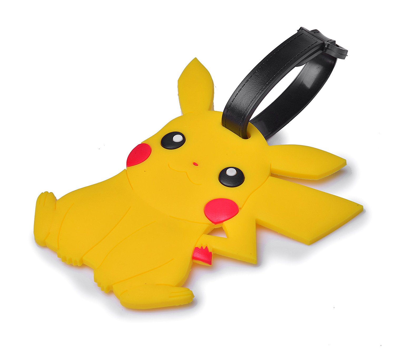 Reindear Pokemon Pikachu Luggage Tag