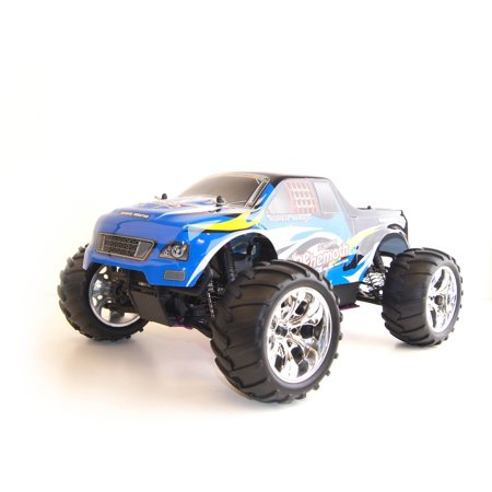 Image of 1/10 Scale RCC1081BLUE R/C Gas Powered 4WD Off-Road Truck