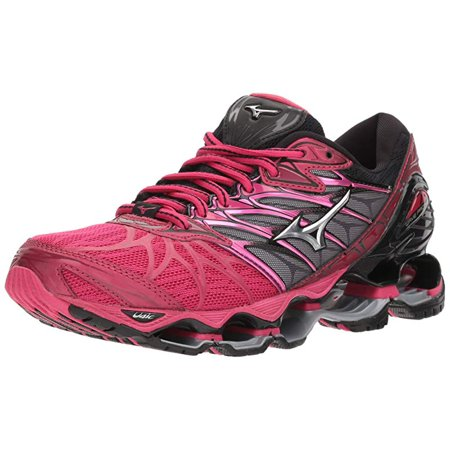 lowest price 71a69 b5bca Mizuno - Mizuno Women s Wave Prophecy 7 Running Shoe, Bright Rose Silver,  10.5 B US - Walmart.com