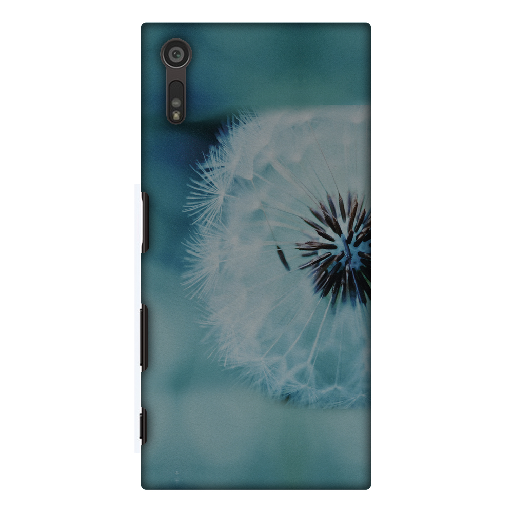 Sony Xperia XZ Case, Premium Handcrafted Designer Hard Shell Snap On Case Printed Back Cover with Screen Cleaning Kit for Sony Xperia XZ, Slim, Protective - Dandelion Close By