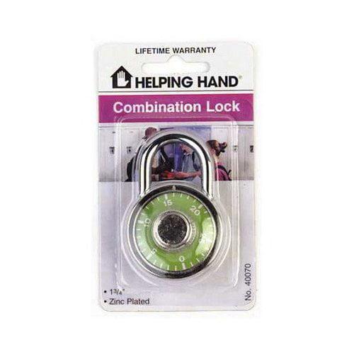 Helping Hand Combination Padlock - 40070 (Qty 3)