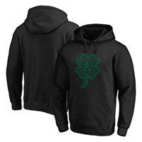 Oakland Athletics Fanatics Branded St. Patrick's Day Celtic Charm Pullover Hoodie - Black