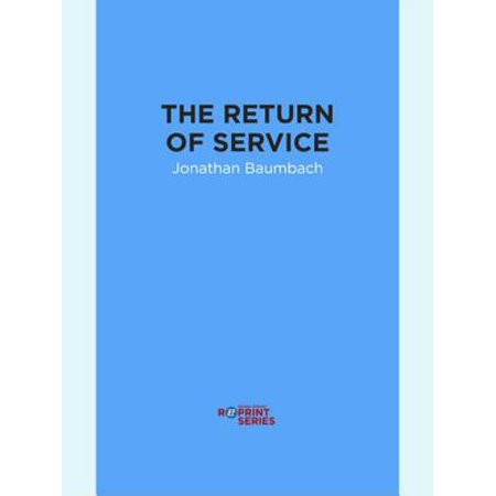 The Return of Service - eBook