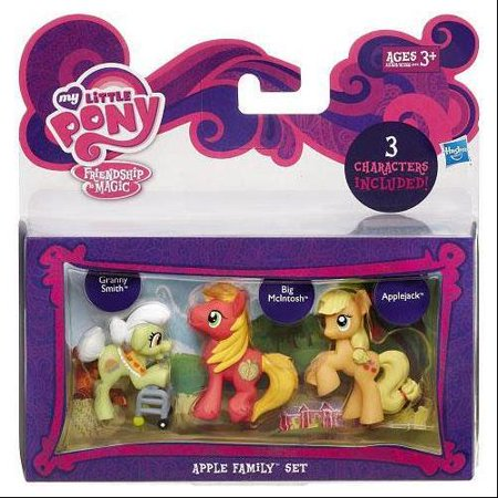 My Little Pony Character Collection Sets Apple Family Figure