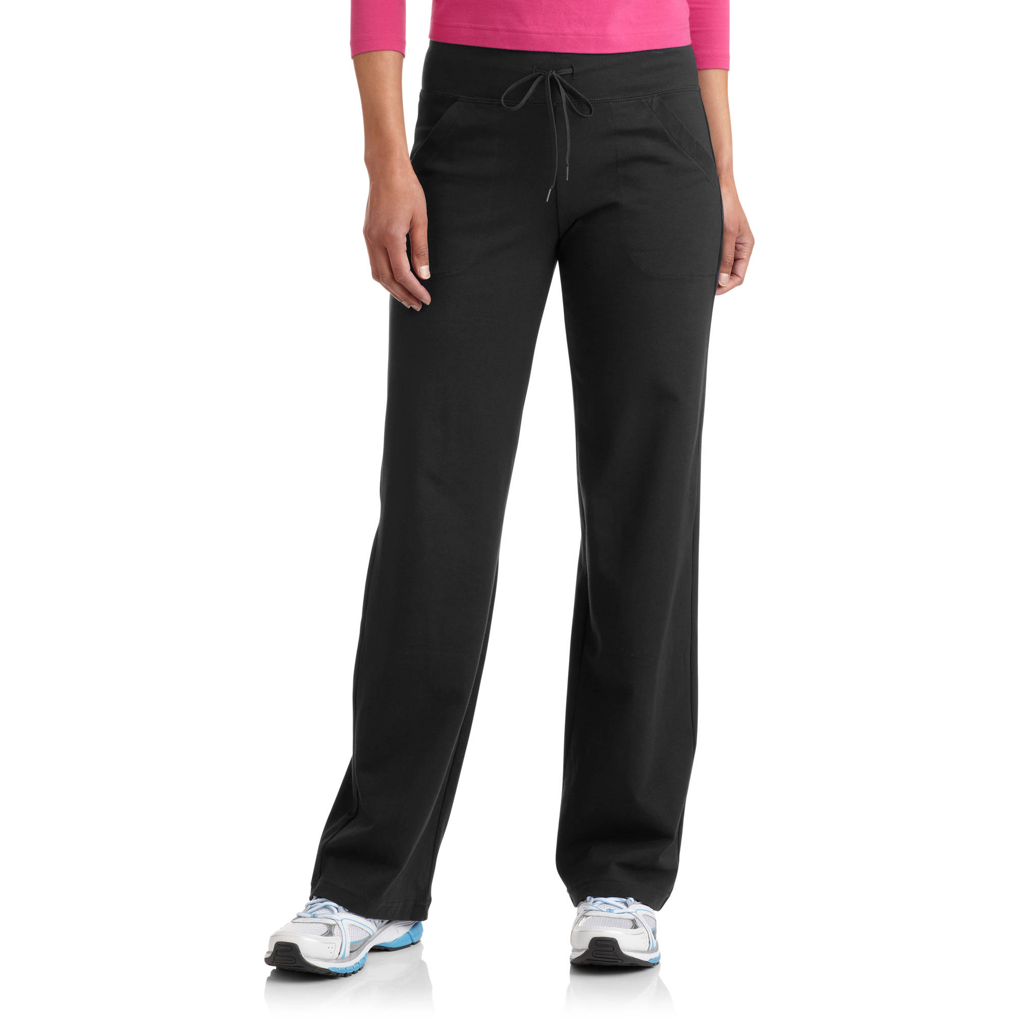 Danskin Now Women's Dri-More Core Relaxed Fit Yoga Pants available in Regular and Petite