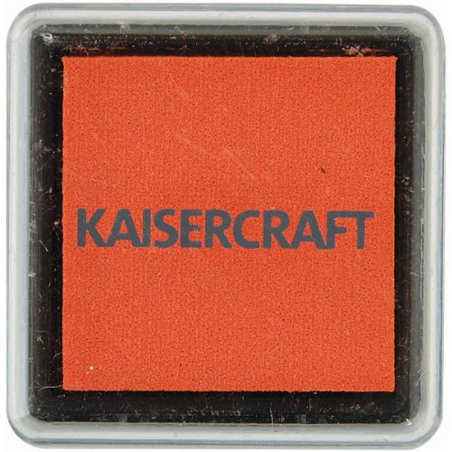 Kaisercraft IP729 1.5-Inch by 1.5-Inch Ink Pad, Small, Tangello Multi-Colored
