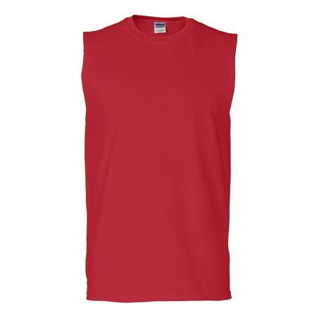 Gildan - Ultra Cotton Sleeveless T-Shirt - (Cotton Sleeveless Tie)