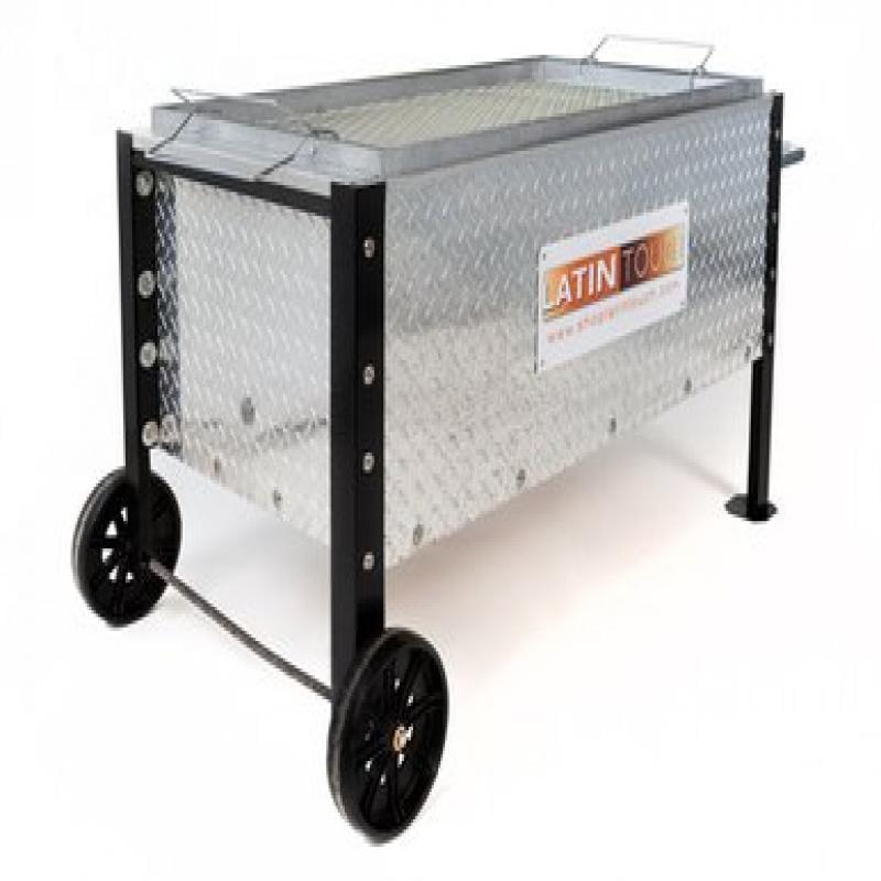Diamond Plate Steel Caja China 100 Lbs Roasting Box