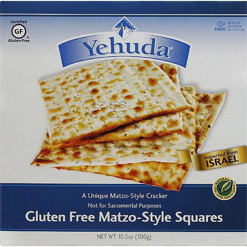 Generic Yehuda Gluten Free Matzo - Style Squares, 10.5 oz, (Pack of 12)