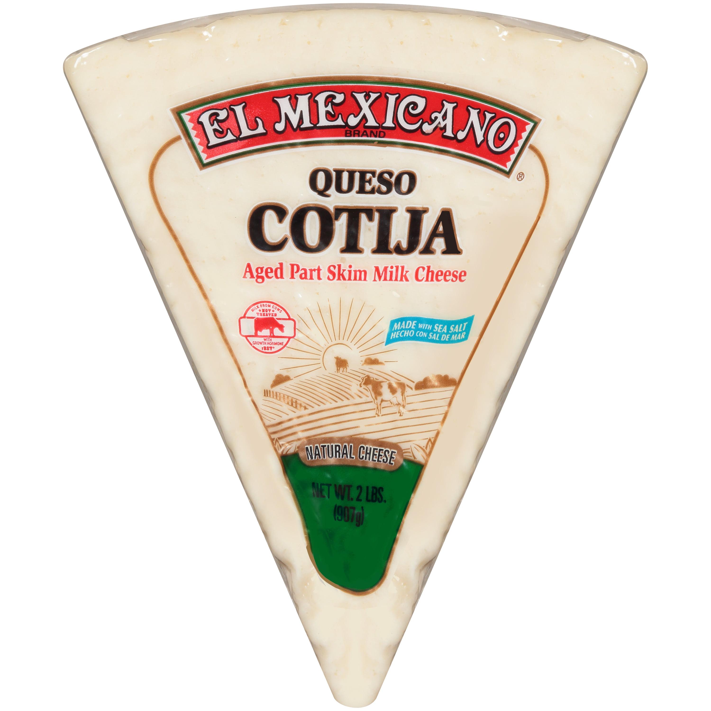 El Mexicano Queso Cotija Cheese 10 Oz Walmart Com Walmart Com