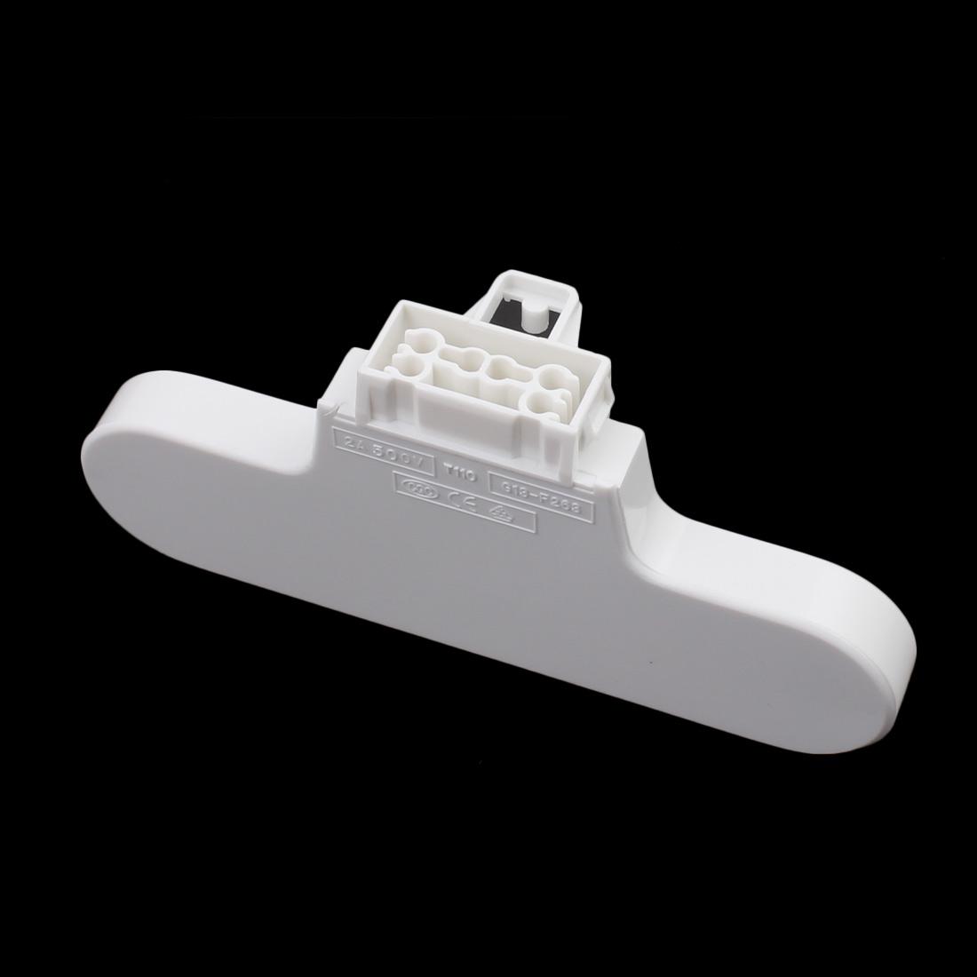 7Pcs AC500V 2A G13-F263B T8 Double Light Socket G13 Base Fluorescent Lamp Holder - image 2 of 3