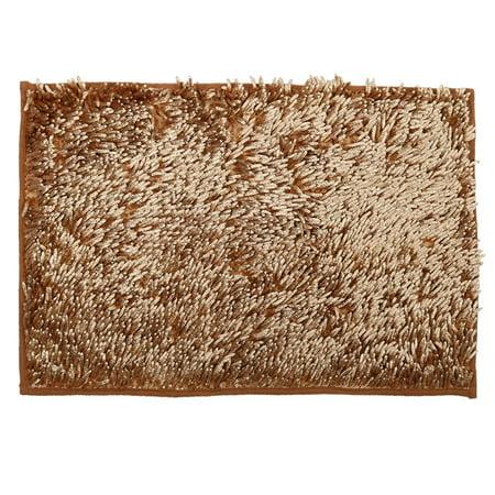 Bathroom Slip Resistant Absorbent Carpet Bath Rug Mat