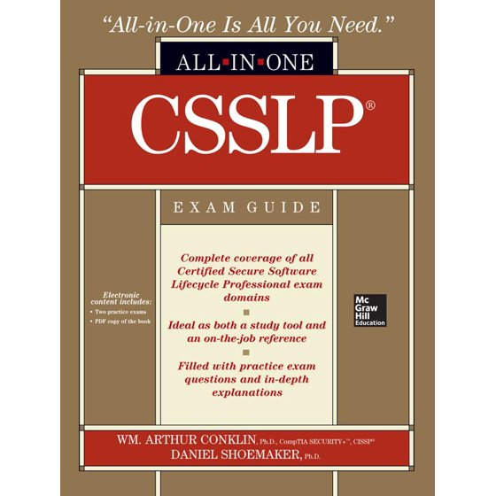 Csslp Certification All In One Exam Guide Walmart
