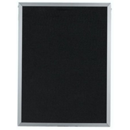 Aarco Products BOFD3624 Face Aluminum and Felt Changeable Letter (Wide Aluminum Changeable Letter Board)