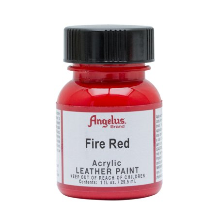 Angelus® Acrylic Leather Paint, 1 oz., Fire Red 1 Oz Floquil Model Paint