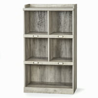 Better Homes & Gardens Modern Farmhouse 5-Cube Organizer (Rustic Gray Finish)