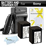 2PK Replacement NP_FV70 Battery And Charger Kit For Sony ...