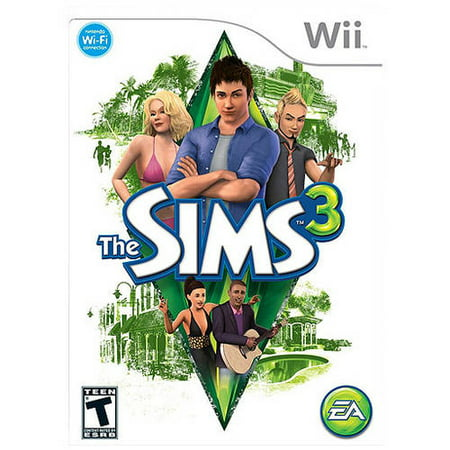 Electronic Arts The Sims 3 (Wii) - Pre-Owned