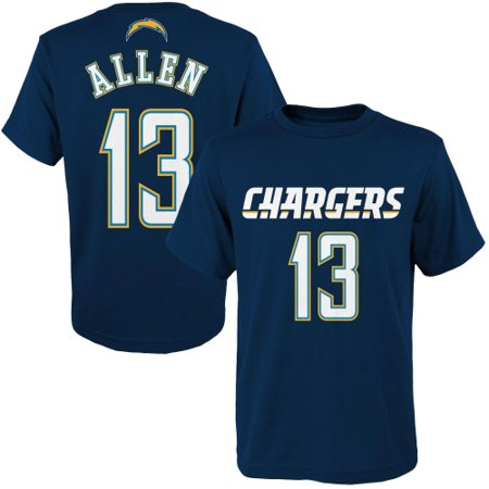 Keenan Allen Los Angeles Chargers Youth Primary Gear Name & Number T-Shirt - Navy