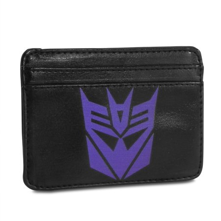 Weekend Wallet - Transformers Decepticons Logo Synthetic Leather Credit Cards Weekend Wallet