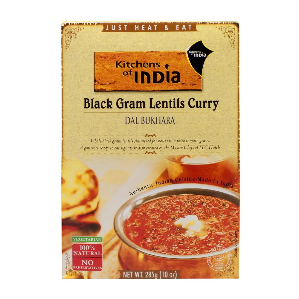 Kitchens Of India Black Gram Lentils Curry, 10.0 OZ