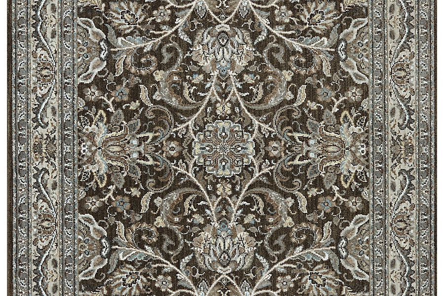 """Karastan Euphoria Newbridge Brown (3' 6""""x5' 6"""") by Mohwak Home"""
