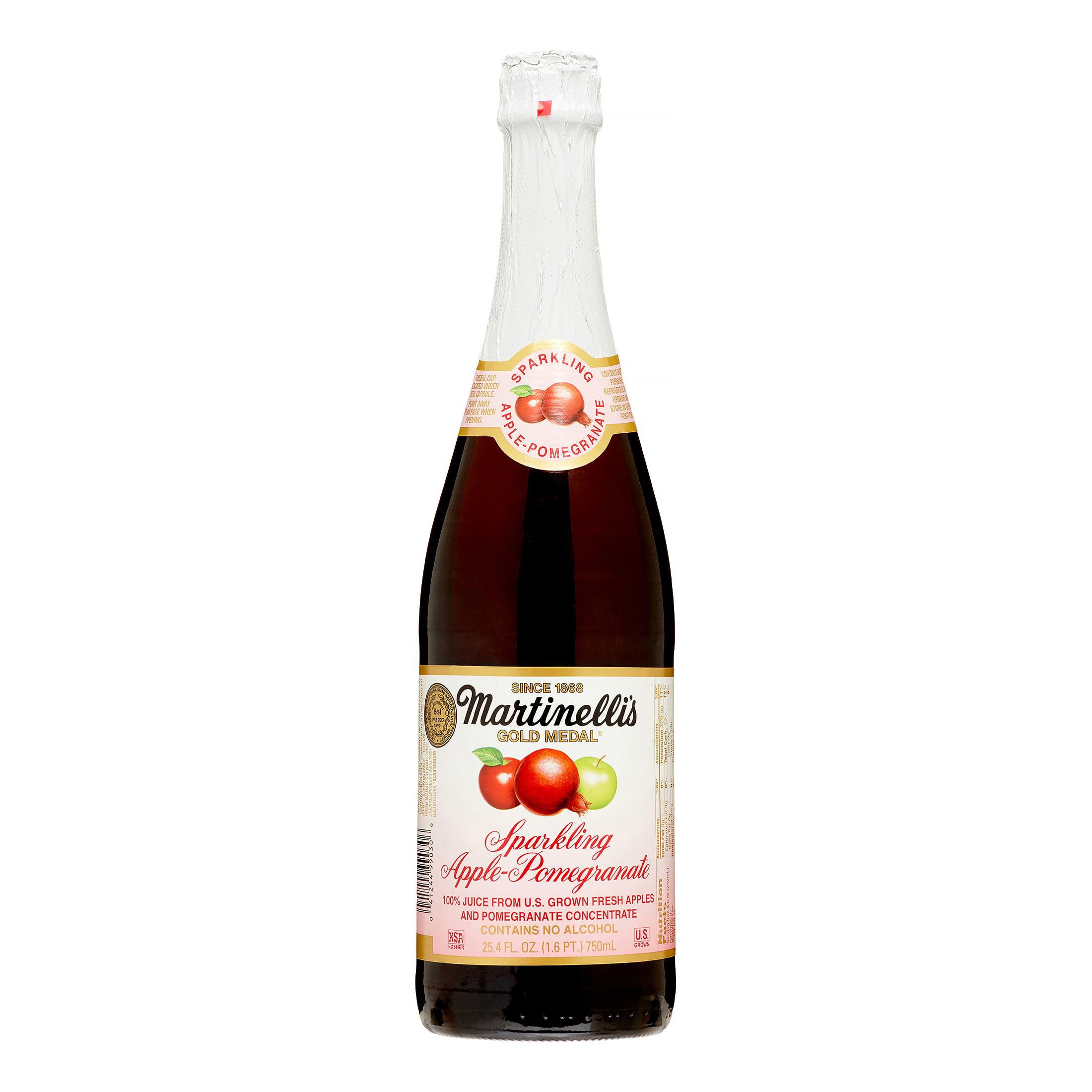 Martinelli's Sparkling Apple Pomegranate 25.4 Oz