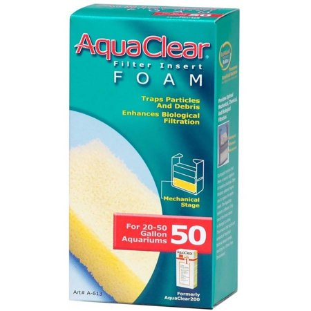 Aquaclear Powerheads (AquaClear 50 Filter Insert Foam )