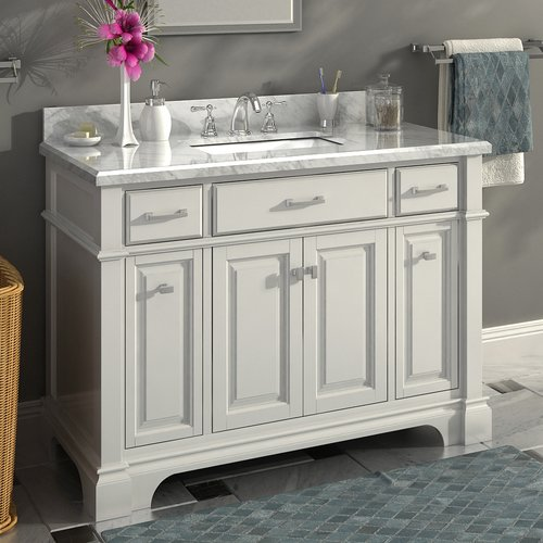 Lanza Nova 48'' Single Sink Bathroom Vanity Set