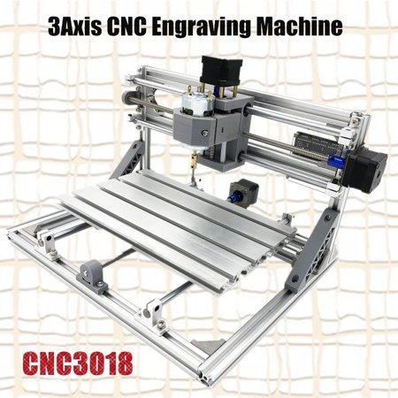 3 Axis 3018 GRBL Control DIY CNC Laser Engraving Machine PCB PVC Milling Wood Router Engraver Printer 30x18CM