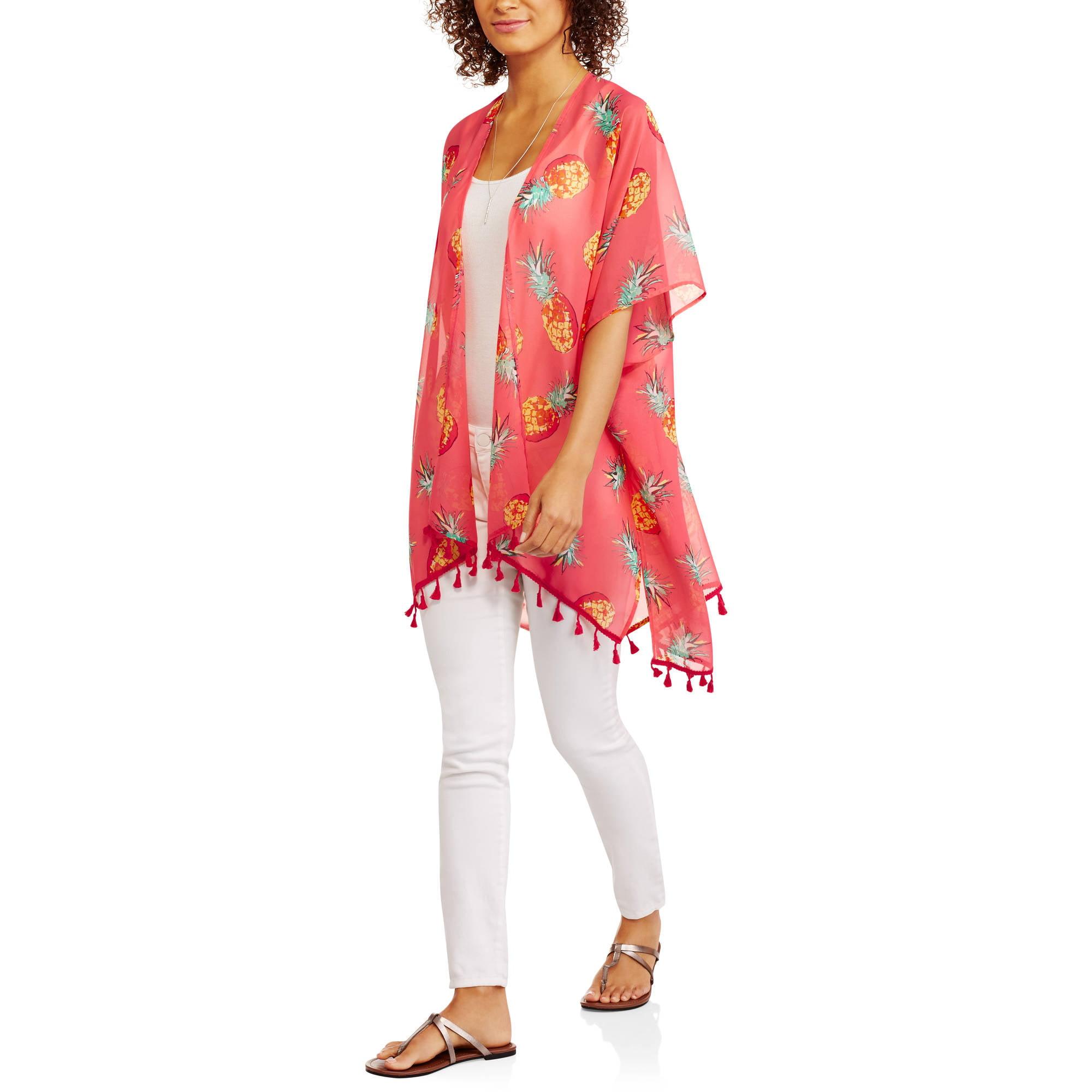 Faded Glory Woven Kimono