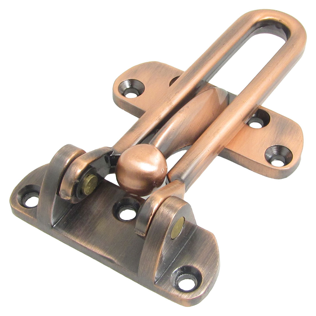 Unique Bargains Unique Bargains Hardware Part Bronze Tone Metal Security Door Buckle w Screws