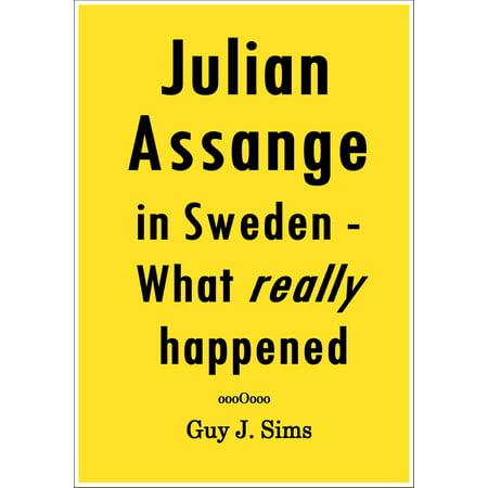 Julian Assange Halloween (Julian Assange in Sweden -)