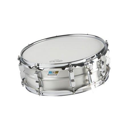 Ludwig Acrolite Classic Aluminum Snare Drum Matte Finish 5x14 - Ludwig Classic Drum