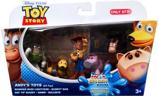 Toy Story Andy's Toys Mini Figure Set by