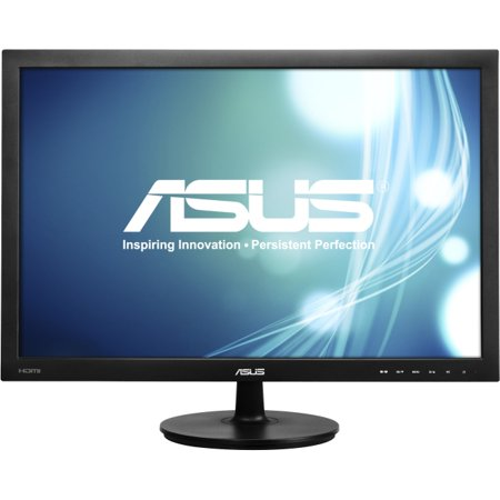 Asus Vs24ah P 24 1   Led Lcd Monitor   16 10   5 Ms   Adjustable Display Angle   1920 X 1200   16 7 Million Colors   300 Nit   80 000 000 1   Wuxga   Dvi   Hdmi   Vga   30 W   Black   Energy Star  Erp