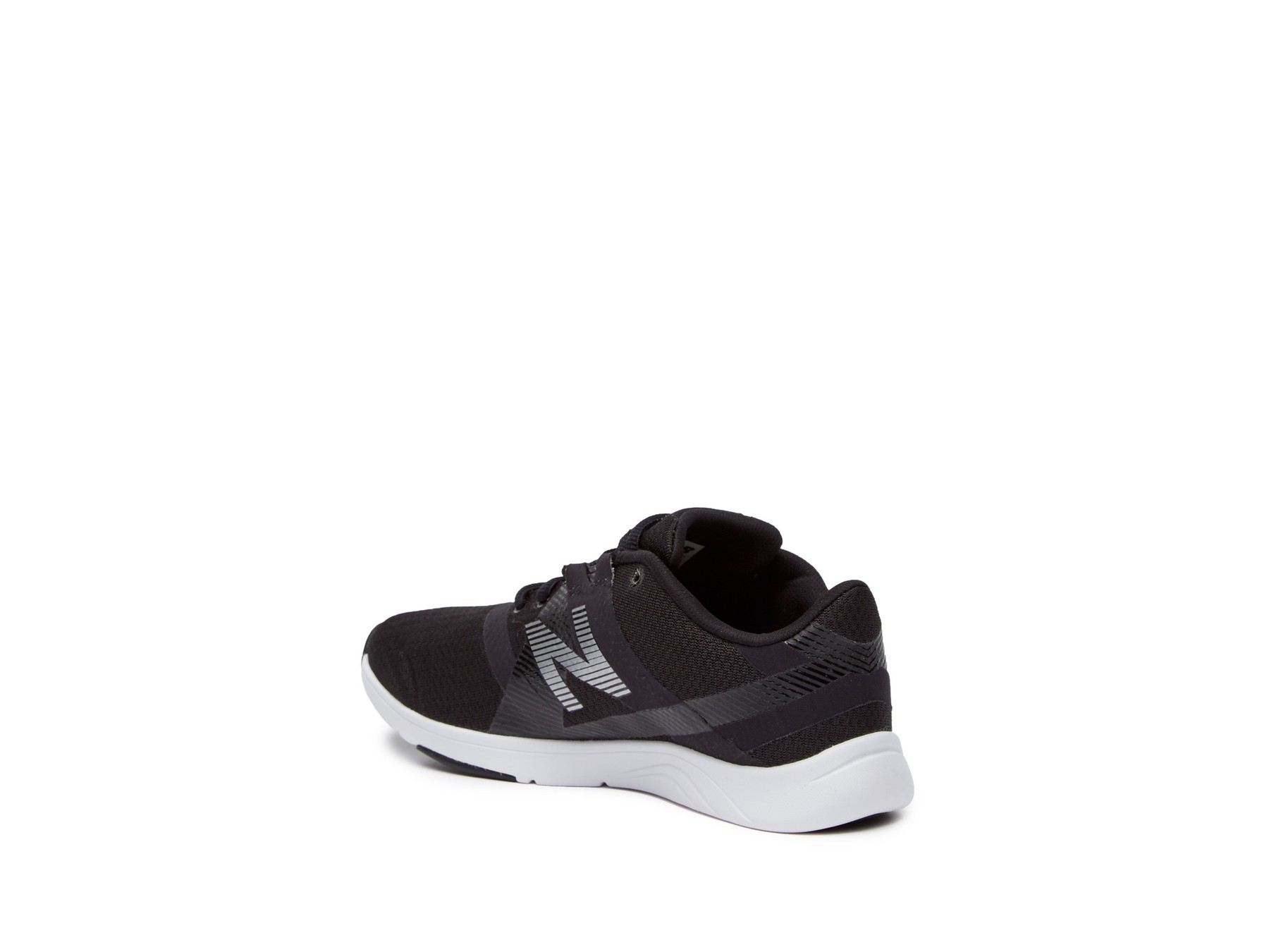New Balance Womens WX611BW Low Top Lace Up Running Sneaker