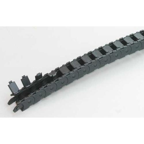 KABELSCHLEPP 0180.15.0281 Microtrack(TM), Open, Nylon, Width 23mm, 1Ft