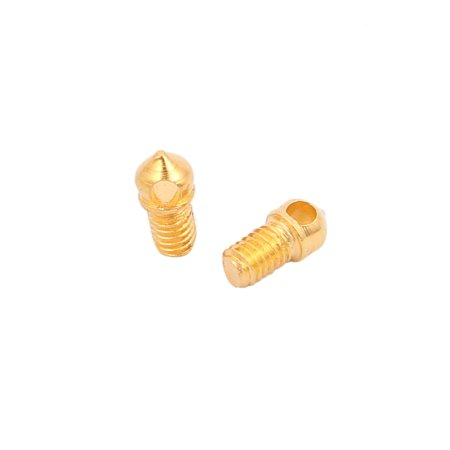 15 Pcs M3 Thread Diameter Home Lighting Accessories Crystal Connector Gold Tone - image 1 of 2